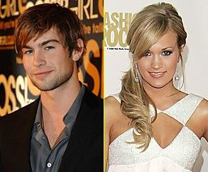 Chace Crawford and Carrie Underwood