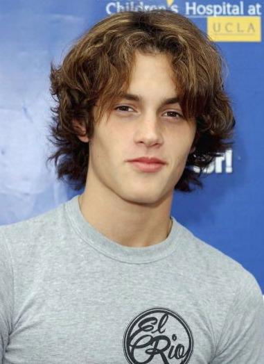 Long-Haired Penn Badgley!