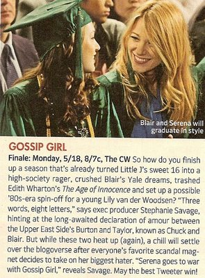 Gossip Girl Graduation Pic
