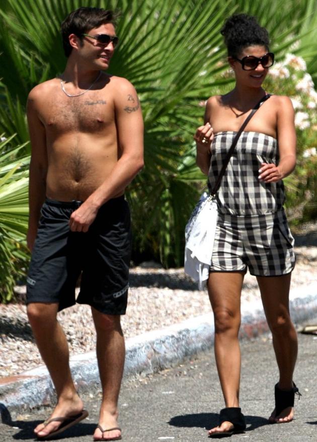 Jessica Szohr and Ed Westwick Pic