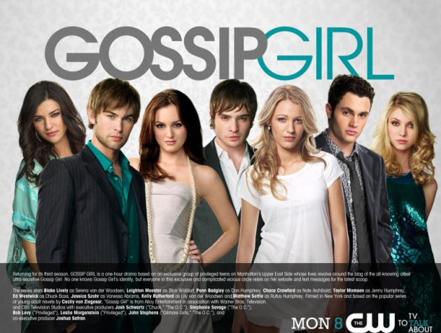 Gossip Girl Cast: Season 3 Poster