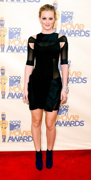 Leighton at the MTV Movie Awards