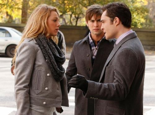 Chuck, Nate and Serena Photo
