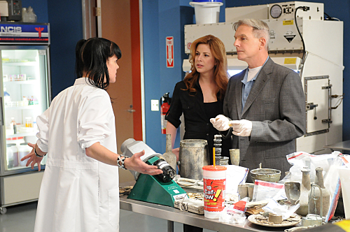 Abby and Gibbs in the Lab
