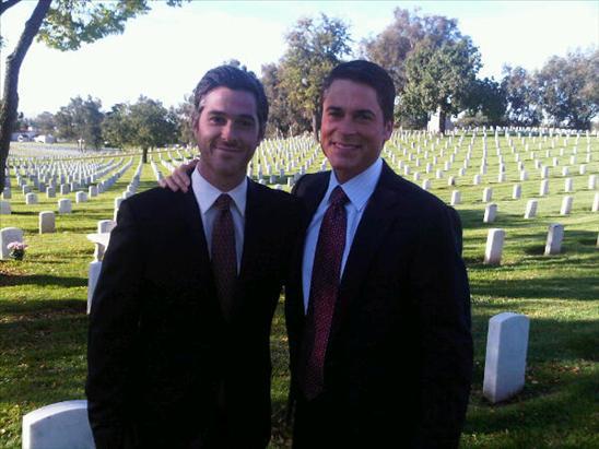Justin and Robert