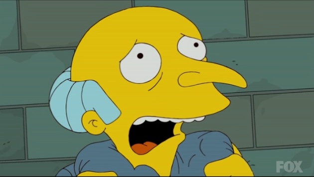 Mr. Burns in Prison