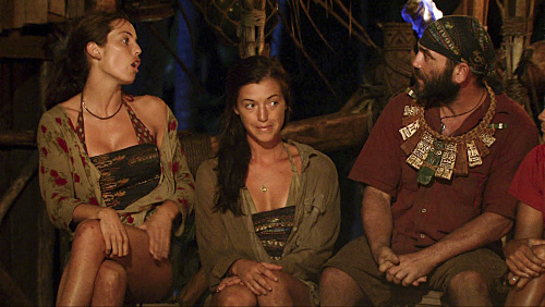 Danielle and Russell Argue at Tribal
