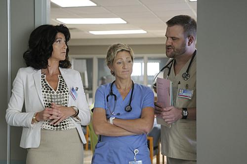 Trio of Nurse Jackie Characters