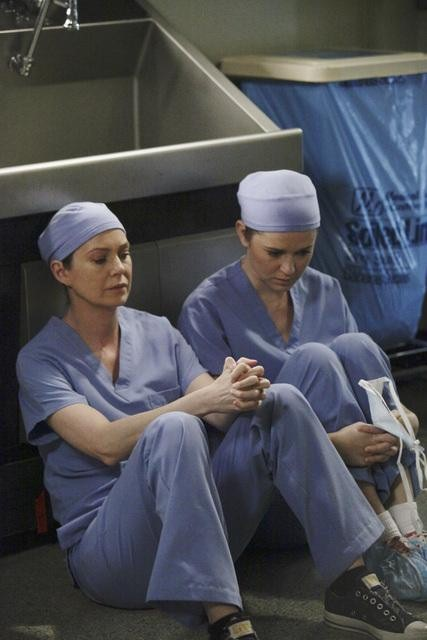 Meredith and April