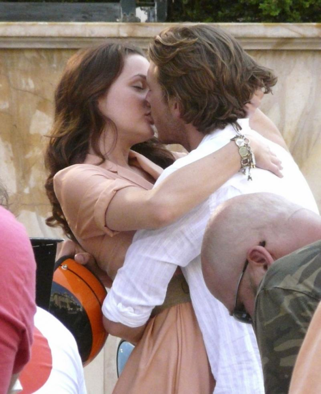 Leighton Meester and Luke Bracey