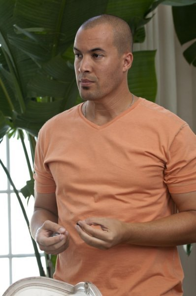 Jesse on Burn Notice