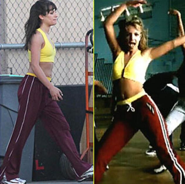 Lea as Britney