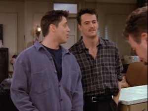 Joey, Chandler and Richard