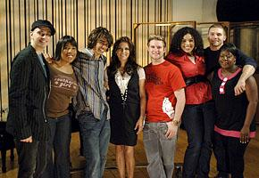 Martina McBride and the Idols