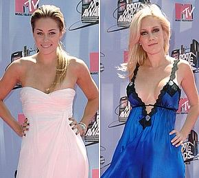 Lauren Conrad and Heidi Montag Fight!