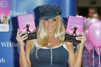 Katie Price and Her Book
