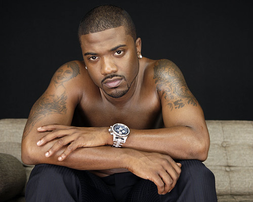 Ray J Shirtless