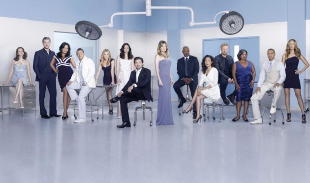 Grey's Anatomy Season 7 Cast Photo