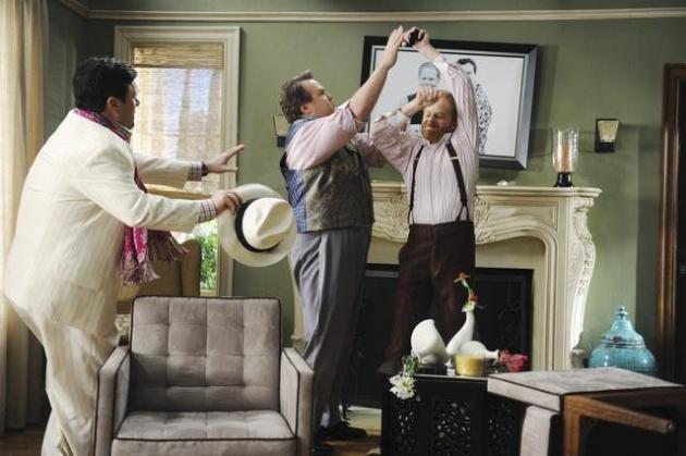 Nathan Lane on Modern Family