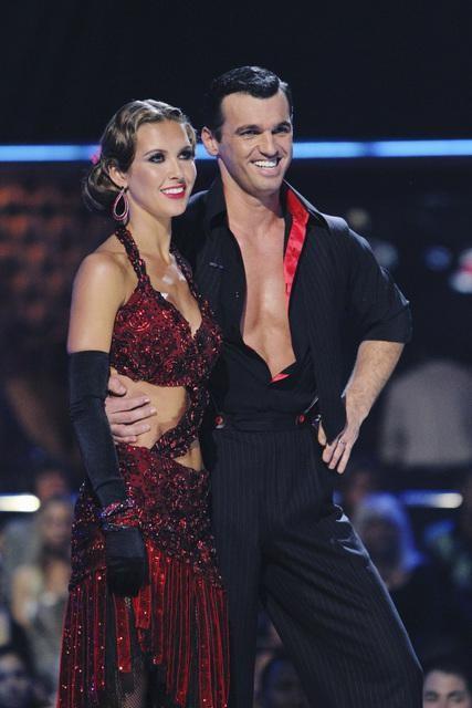 Tony Dovolani and Audrina Patridge Photo