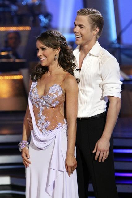 Jennifer Grey and Derek Hough Photo