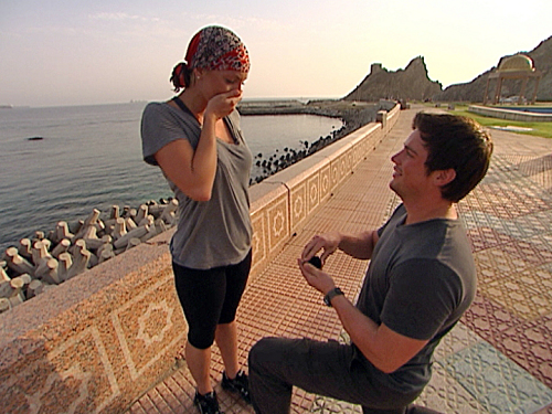 Chad Proposes To Stephanie