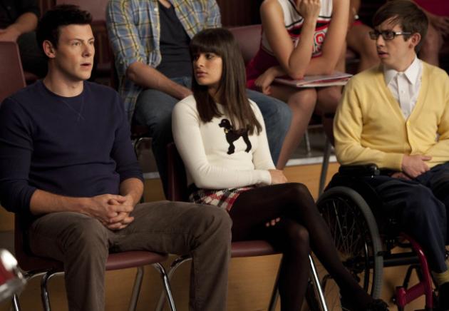 A Glee Couple