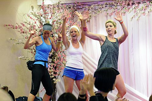 Kat, Jill and Brook Dance