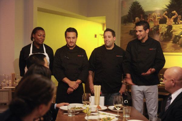 Nervous Chefs