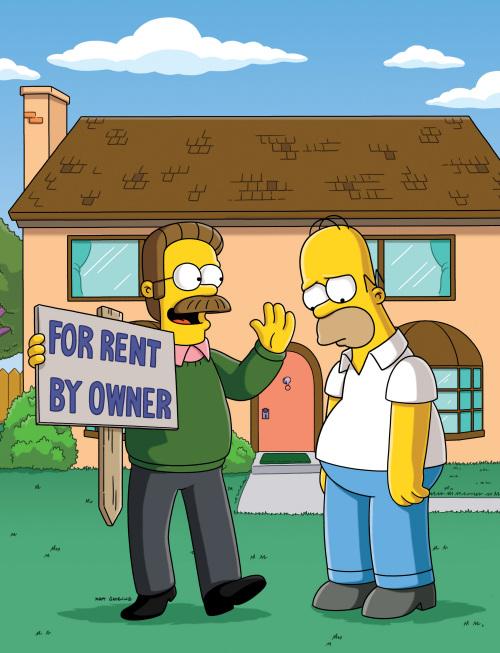 Flanders OWNS Homer