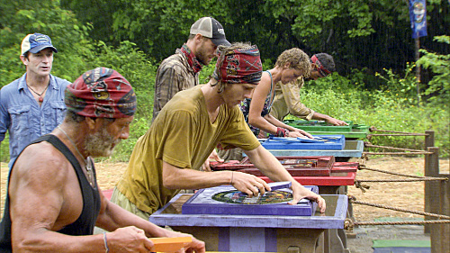 Final Five Survivors Compete in a Challenge