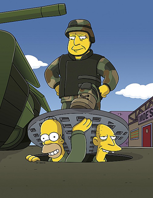 Homer Joins Up