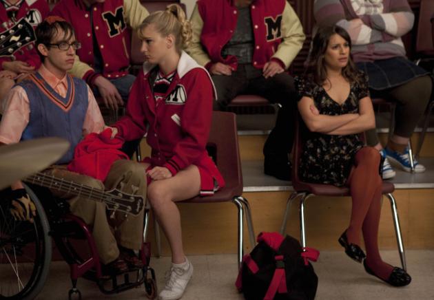 Glee Super Bowl Episode Photo
