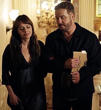 Melinda Clarke on CSI