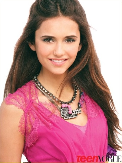 Nina Dobrev in Teen Vogue
