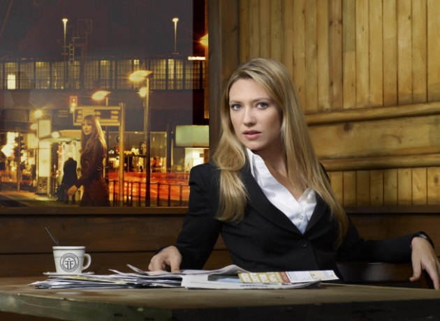 Olivia (Anna Torv) on Fringe