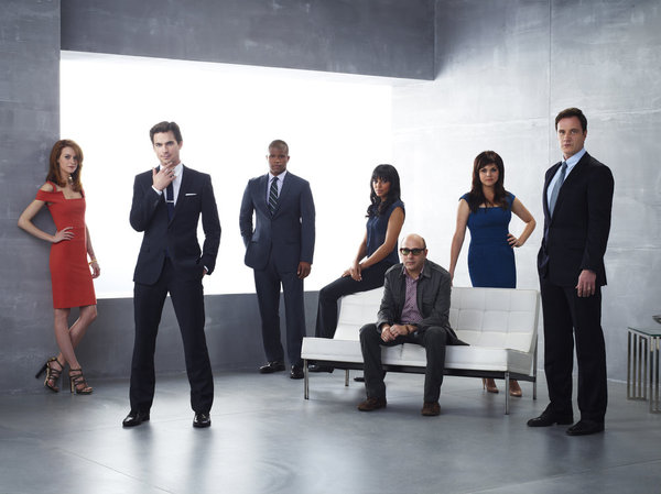 White Collar Cast Pic