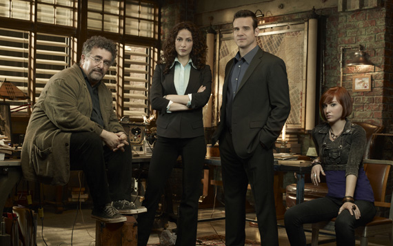 Warehouse 13 Cast Pic