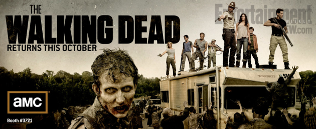 The Walking Dead Comic-Con Poster