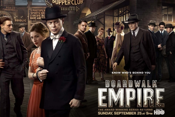 Boardwalk Empire Season Two Poster