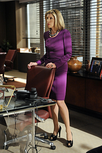 Diane on The Good Wife