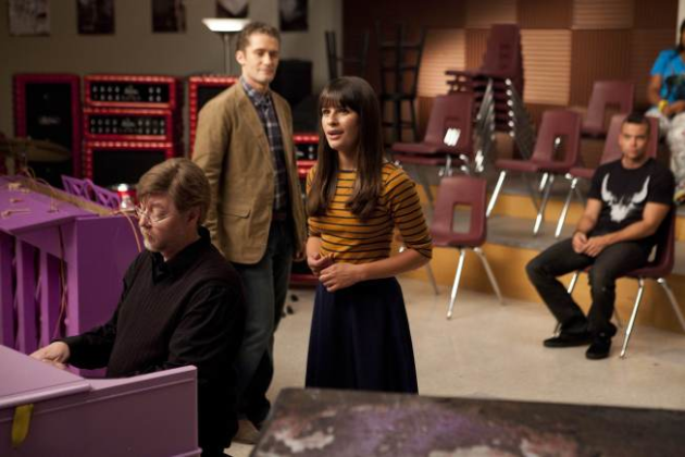 Rachel in the Choir Room