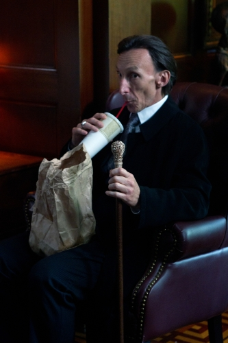 Julian Richings as Death