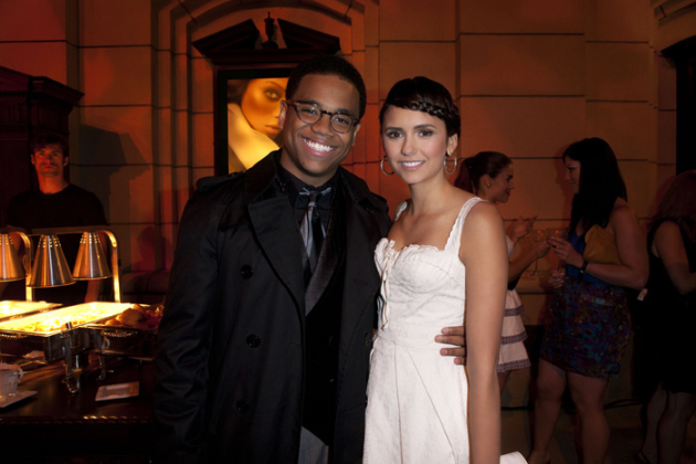 Tristan Wilds and Nina Dobrev