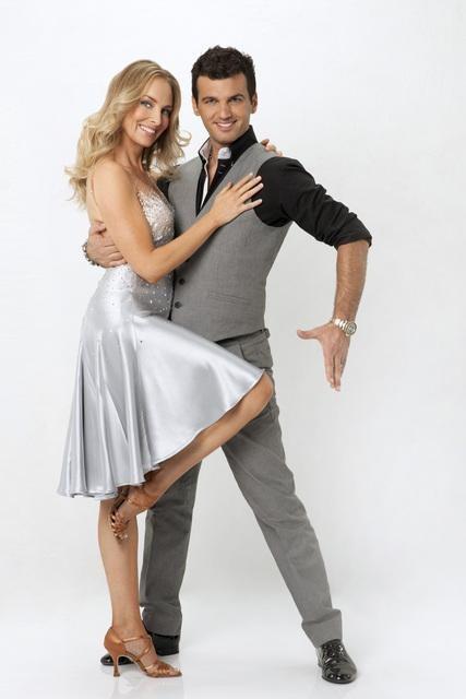 Chynna Phillips and Tony Dovolani