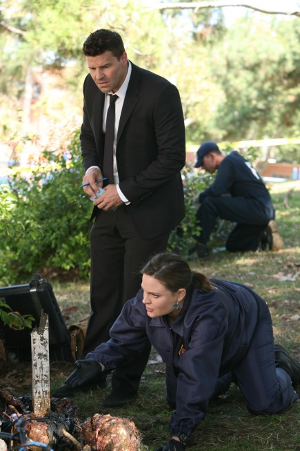 Brennan and Booth in the Field