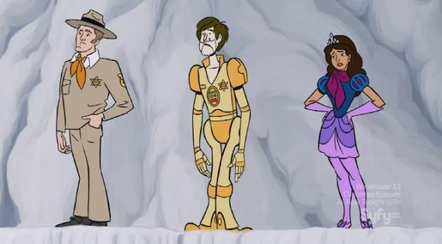 Homage to Scooby Doo