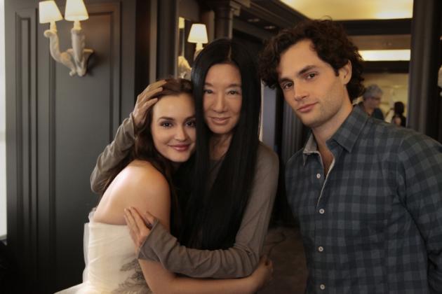 Leighton, Penn and Vera Wang