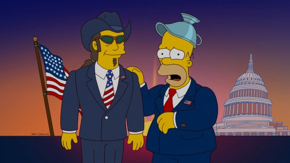 Ted Nugent on The Simpsons