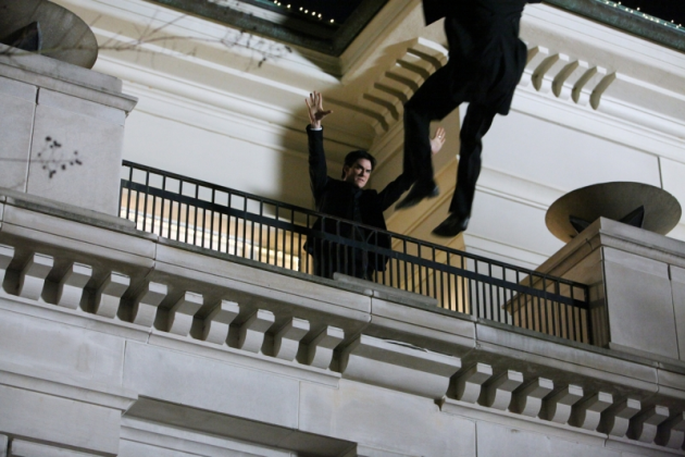 Pushed by Damon